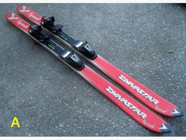 130cm Skis c/w Bindings