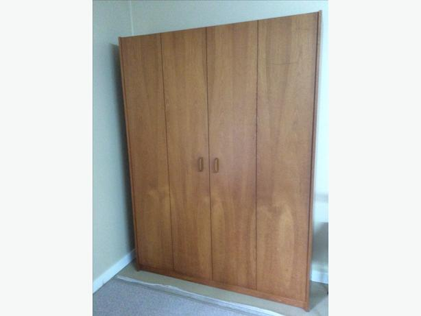 mid century teak original murphy bed central nanaimo