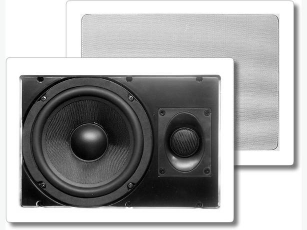 "PRO-LINEAR 6.5"" 2-Way In-Wall Speaker (PL6WRF) - 1 Pair"