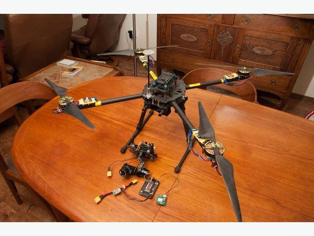 Tarot 650 Quadcopter