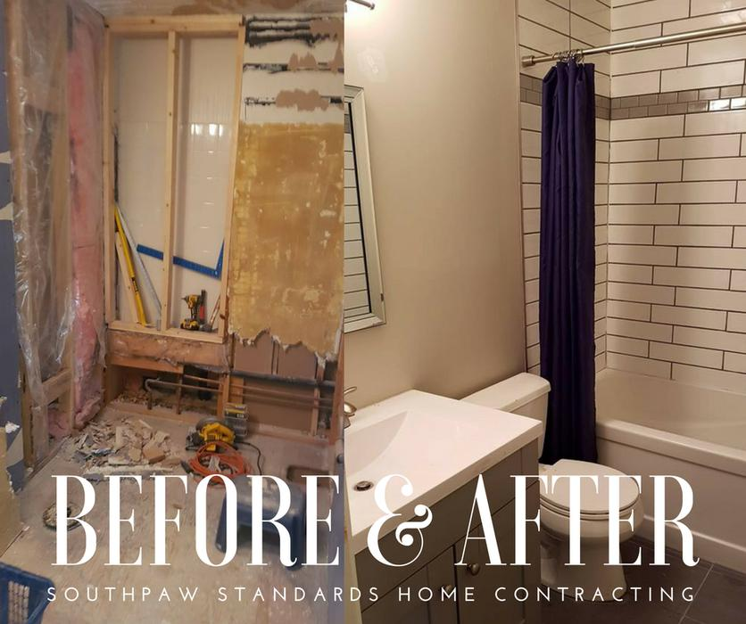 Bathroom Kitchen And Home Renovation Southpaw Standards Home Contracting South Nanaimo