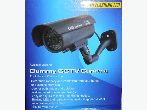 Indoor/Outdoor Fake Security CCTV Bullet Camera