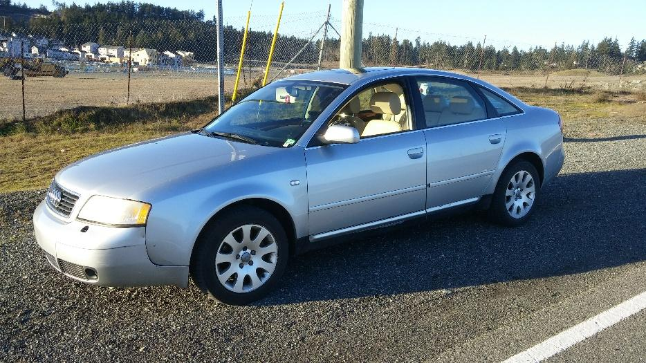 Audi A6 Quattro West Shore Langford Colwood Metchosin