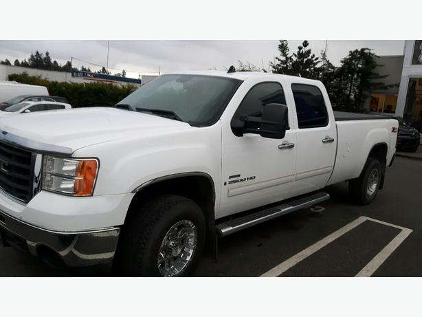 used 2008 gmc sierra 2500hd slt duramax for sale in parksville outside comox valley courtenay comox. Black Bedroom Furniture Sets. Home Design Ideas