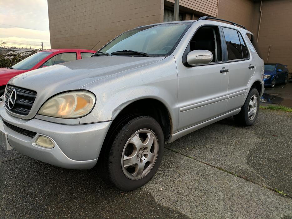 2002 mercedes benz ml320 mechanic special as is for Mercedes benz ml320 2002