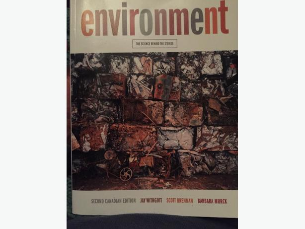Environment: The Science Behind the Stories by