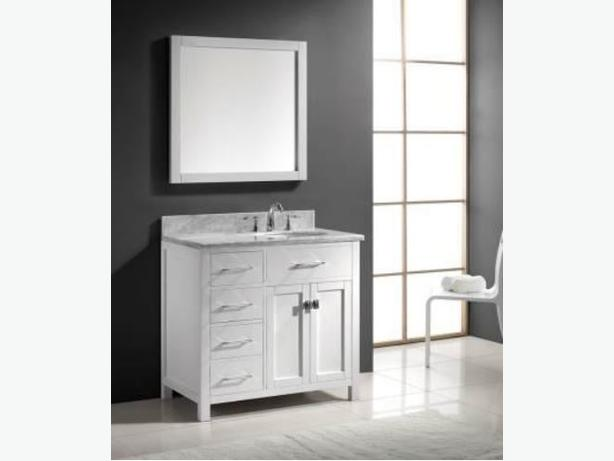 36 white bathroom vanity complete set gloucester ottawa Complete bathroom vanity