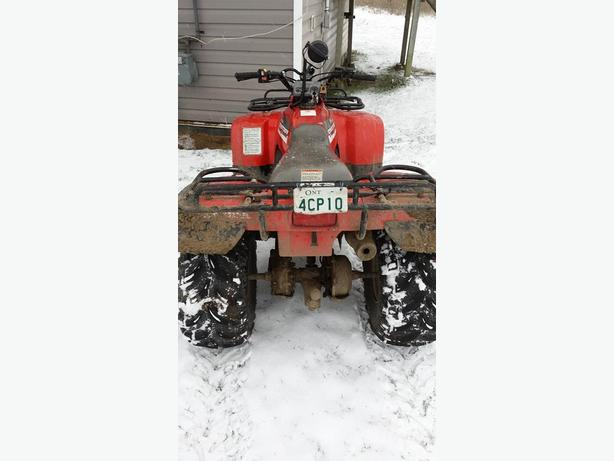Honda fourtrax 2x4