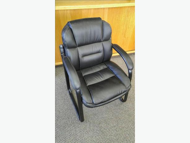 Leather Office Client Chairs