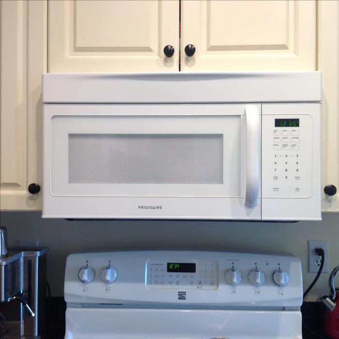 Reduced over the range microwave victoria city victoria - Red over the range microwave ...