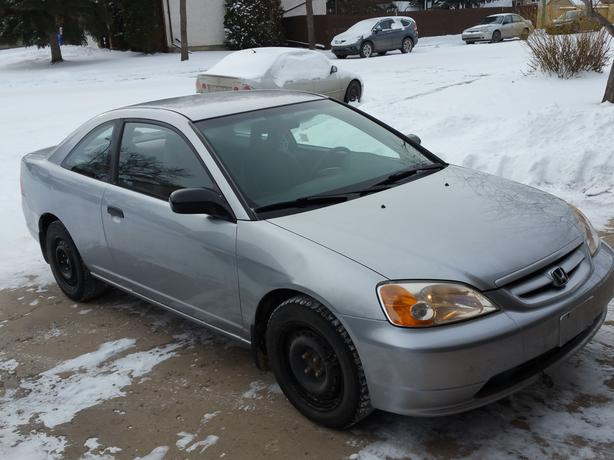 2002 honda civic dx coupe 2 door east regina regina for 03 honda civic 2 door