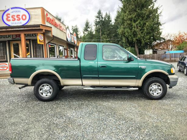 1999 ford f 250 extended cab 4x4 outside nanaimo nanaimo. Black Bedroom Furniture Sets. Home Design Ideas