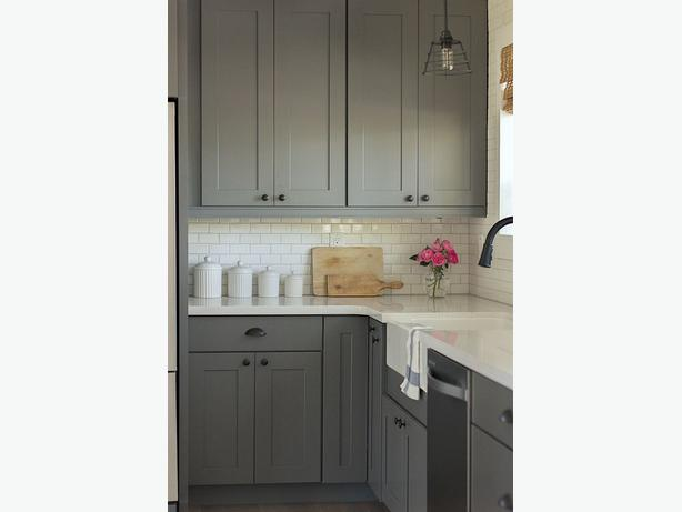 New grey shaker kitchen cabinet kanata ottawa for Kitchen cabinets york region
