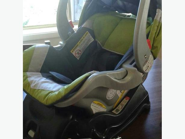 Car seat and base baby trend