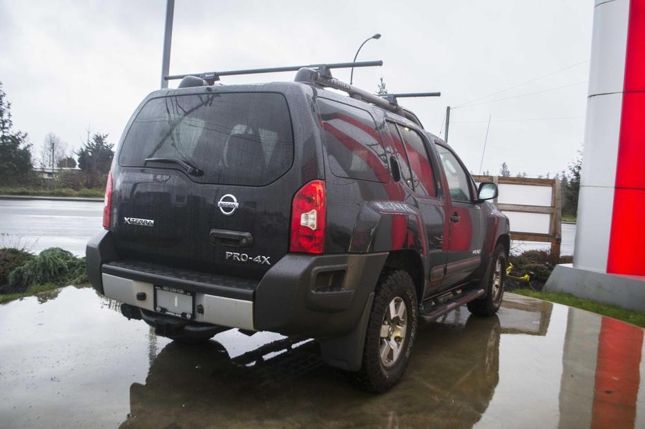 2012 Nissan Xterra Pro 4x 4x4 Roof Racks Outside