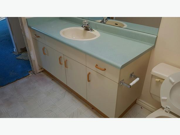 Free bathroom vanity and sinks victoria city victoria Used bathroom vanity with sink