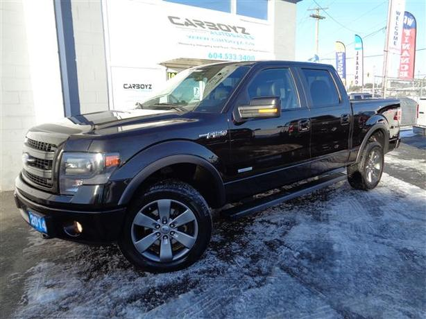 2014 ford f150 fx4 crew ecoboost nav sunroof leather no accidents outside victoria victoria. Black Bedroom Furniture Sets. Home Design Ideas