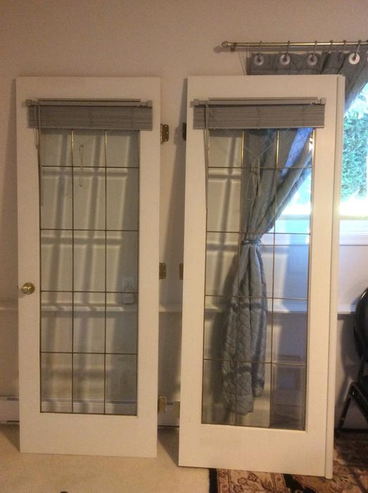 Free french doors saanich victoria mobile for Used french doors
