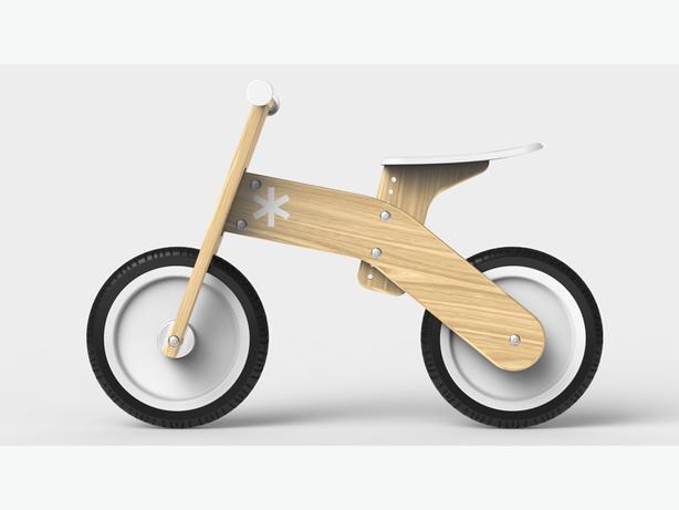 Rent a Wooden Strider Bike