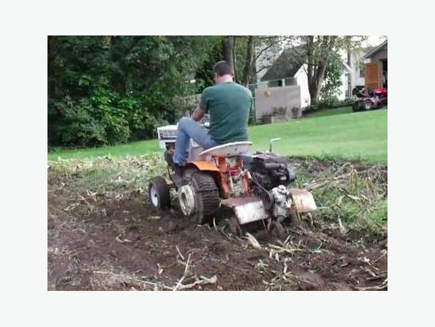 WANTED: Garden Tiller, tow behind, gas powered