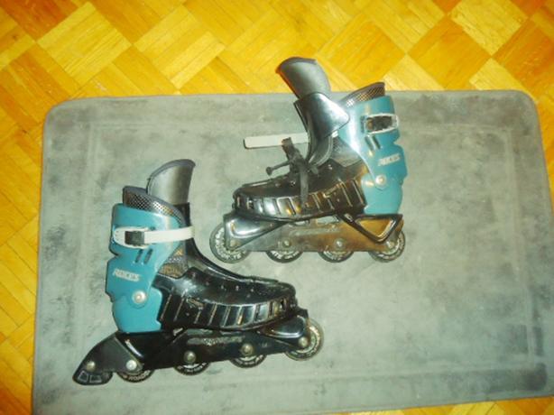 """ROCES """"STL"""" Inline Roadskate Long Rider - Men's Sz. 7"""