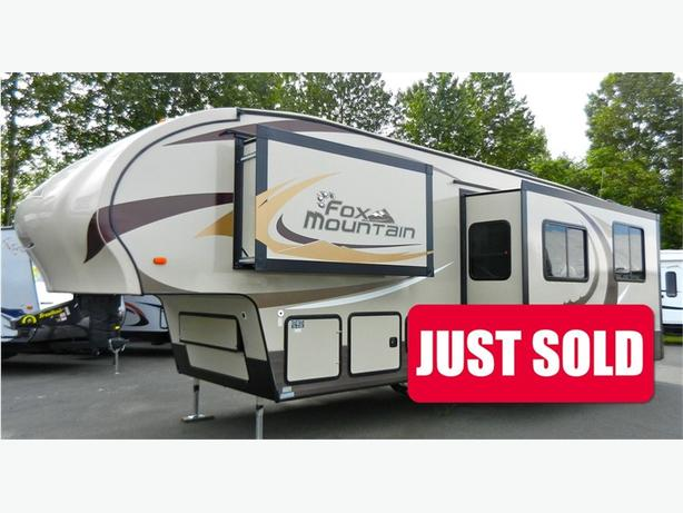 2016 Fox Mountain 335 BHS - WOW Start Living On Mountain Time Thi... -