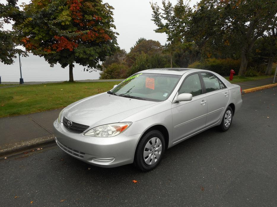 2002 toyota camry le auto loaded 4 cylinder esquimalt view royal victoria mobile. Black Bedroom Furniture Sets. Home Design Ideas