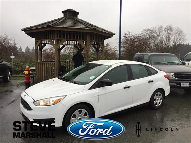 2016 Ford Focus S - Factory Warranty Remaining