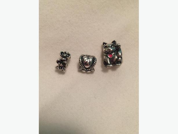 12 pandora charms will sell separately obo victoria for Pandora jewelry salt lake city