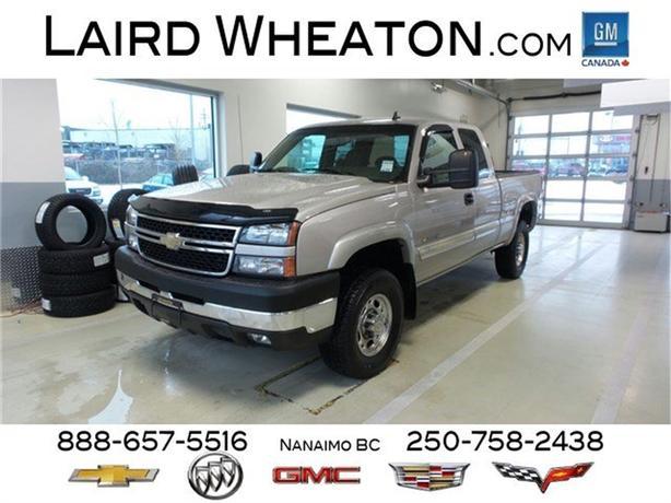 Chevrolet Silverado 2500hd Gatineau >> 2007 Chevrolet Silverado 2500HD Classic LS 4x4 w/ Heavy Duty Suspension North Nanaimo, Nanaimo