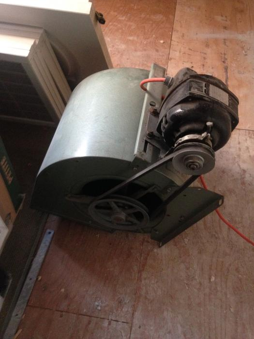 Squirrel Cage Fan With 1 4 Hp Motor Saanich Victoria