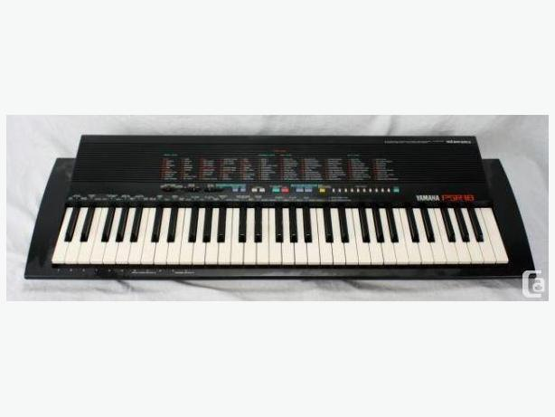 yamaha psr 18 stereo keyboard north saanich sidney