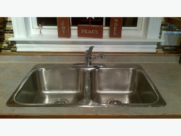 FREE: Sink and taps.