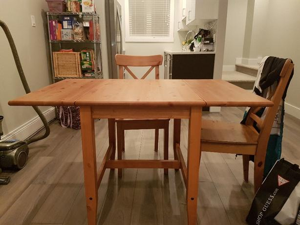 Ikea Dining Table West Shore LangfordColwoodMetchosin  : 57451487614 from www.usedvictoria.com size 614 x 460 jpeg 39kB