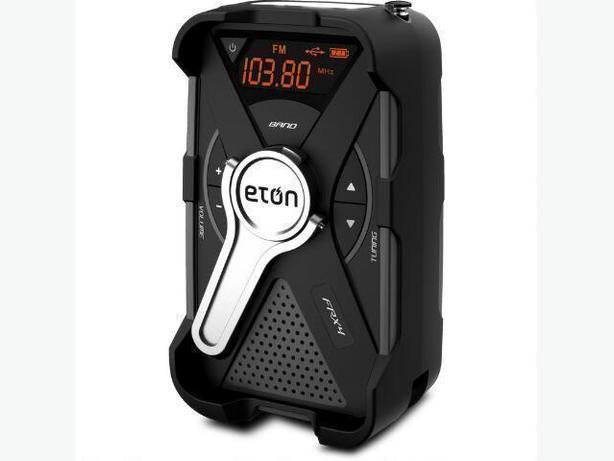Eton FRX4 Solar Hand Crank Weather Alert Radio