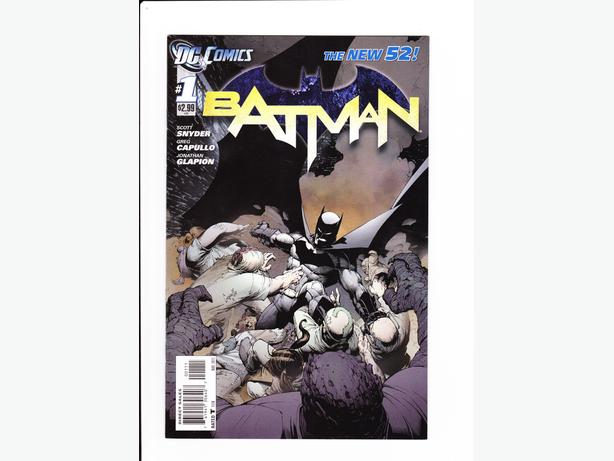 Batman #1 New 52! FIRST PRINT