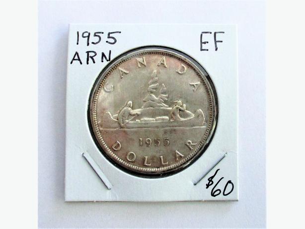 1955 Arnprior Silver Dollar - EF Grade