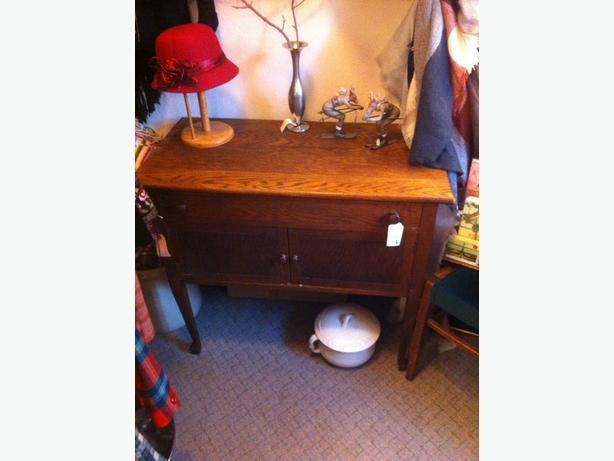 Small Oak Cabinet