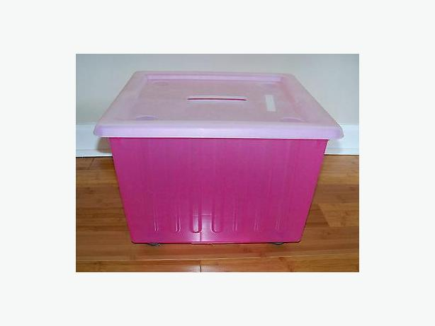 Ikea plastic stackable toy boxes 3 victoria city victoria for Toy chest ikea