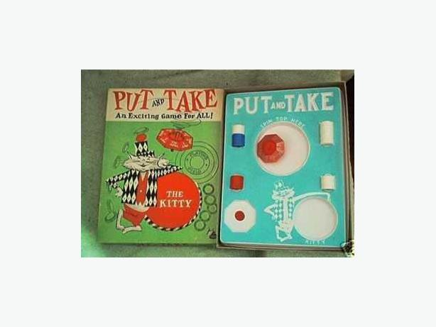 VINTAGE PUT AND TAKE GAME