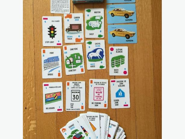 Toyota Car-Cards (1972 Canadian card game)