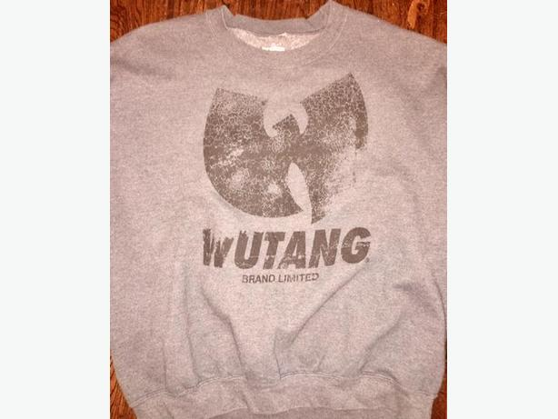 Wu Tang dark grey sweat shirt - size XL - wutang - streetwear