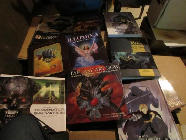 SCI-FI,FANTASY,MOVIE AND COMIC RELATED BOOKS