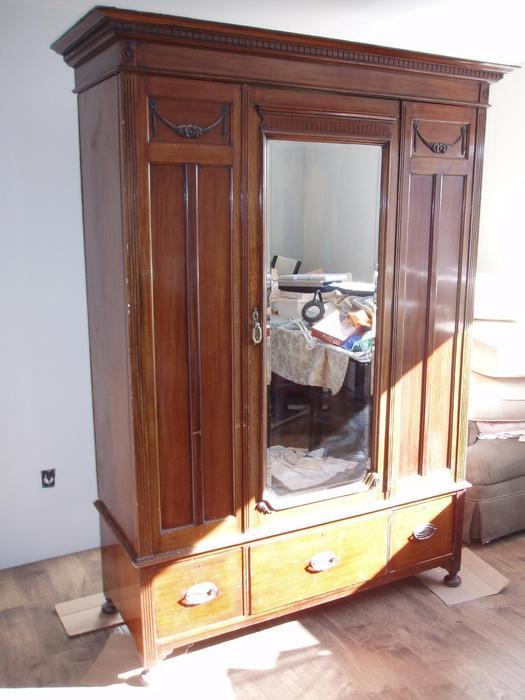Antique armoire saanich victoria