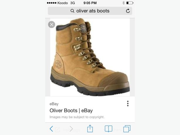 size 13 Oliver AT's workboots never worn