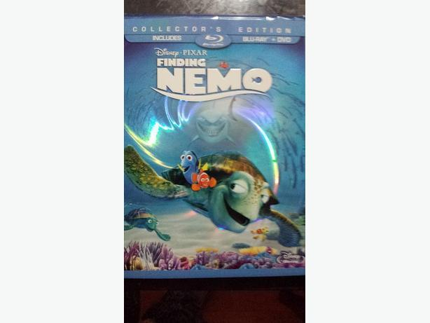 Brand New Finding Nemo on Blueray never been opened