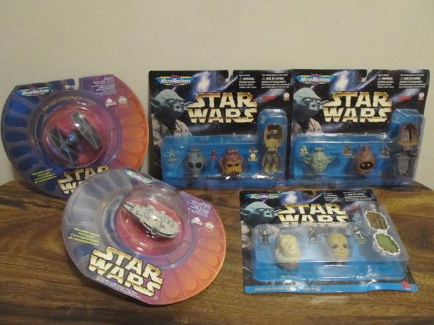 1996 STAR WARS Micro Machines collection