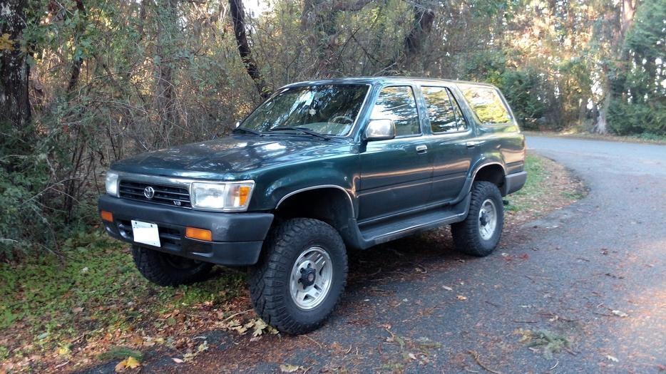 1995 toyota 4runner for sale oak bay victoria. Black Bedroom Furniture Sets. Home Design Ideas
