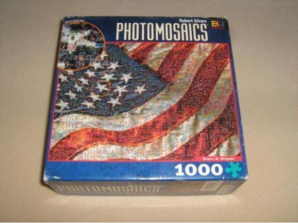PHOTOMOSAICS  1026  PIECES  JIGSAW  PUZZLE