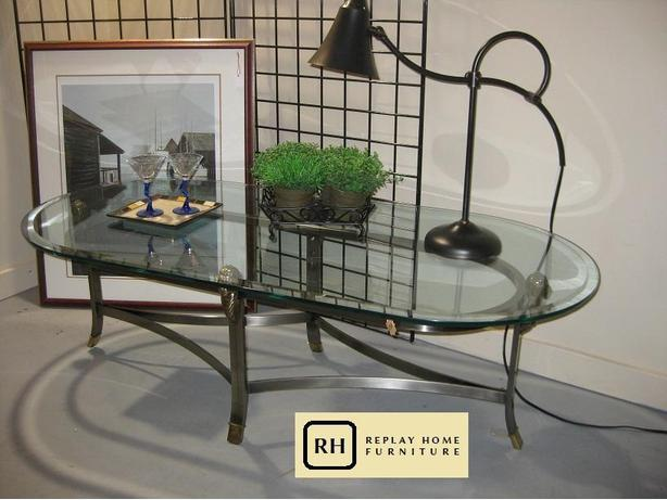Glass Coffee Table Esquimalt View Royal Victoria